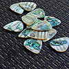 Abalone Tones Green Abalone Guitar Plectrums