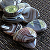 Agate Tones Botswanna Agate Guitar Plectrums