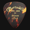 C F Martin Number 1 Heavy 0.96mm Guitar Plectrums