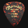 C F Martin Number 1 Medium 0.73mm Guitar Plectrums