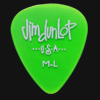 Dunlop Gel Standard Medium Light Green Guitar Plectrums