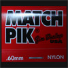 Dunlop Match Pik 0.60mm Guitar Plectrums