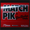 Dunlop Match Pik 0.73mm Guitar Plectrums