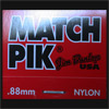 Dunlop Match Pik 0.88mm Guitar Plectrums