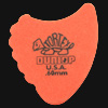 Dunlop Tortex Fins 0.60mm Orange Guitar Plectrums
