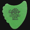 Dunlop Tortex Fins 0.88mm Green Guitar Plectrums