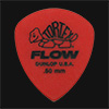 Dunlop Tortex Flow Standard 0.50mm Red Guitar Plectrums