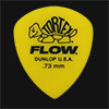 Dunlop Tortex Flow Standard 0.73mm Yellow Guitar Plectrums