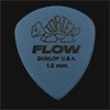 Dunlop Tortex Flow Standard 1.00mm Blue Guitar Plectrums