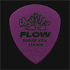 Dunlop Tortex Flow Standard 1.14mm Purple Guitar Plectrums