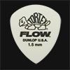 Dunlop Tortex Flow Standard 1.50mm White Guitar Plectrums
