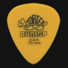 Dunlop Tortex Standard 0.73mm Yellow Guitar Plectrums