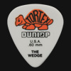 Dunlop Tortex Wedge 0.60mm Orange Guitar Plectrums