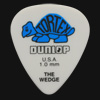 Dunlop Tortex Wedge 1.0mm Blue Guitar Plectrums