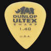 Dunlop Ultex Sharp 1.40mm Guitar Plectrums