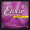 Elixir Bronze Polyweb Guitar Strings .016 - .056