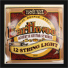 Ernie Ball 12 String Light Earthwood 80/20 Bronze Guitar Strings .009 - .046