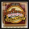Ernie Ball Extra Light Earthwood 80/20 Bronze Guitar Strings .010 - .050