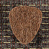 Felt Tones Brown Wool Guitar Plectrums