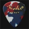 Fender Classic Celluloid 351 Confetti Heavy Guitar Plectrums
