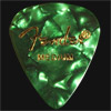 Fender Celluloid 351 Green Moto Medium Guitar Plectrums