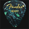 Fender Celluloid 351 Ocean Turquoise Heavy Guitar Plectrums