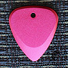 Fusion Tones Red Anodised Guitar Plectrums