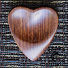 Heart Tones Indian Rosewood Guitar Plectrums