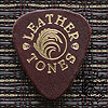 Leather Tones Brown Guitar Plectrums