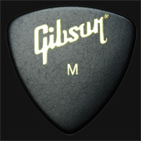 Gibson Wedge Medium Guitar Plectrums