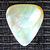Shell Tones Gold Mother Of Pearl Guitar Plectrums
