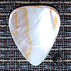 Shell Tones Mussel Shell Guitar Plectrums