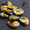 Tiger Tones Gold Tiger Eye Guitar Plectrums